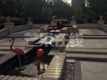 保利紫荆公馆 清水房 -水池喷泉
