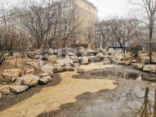 不把山,园区楼王,高级装修,景观超级好-水池喷泉